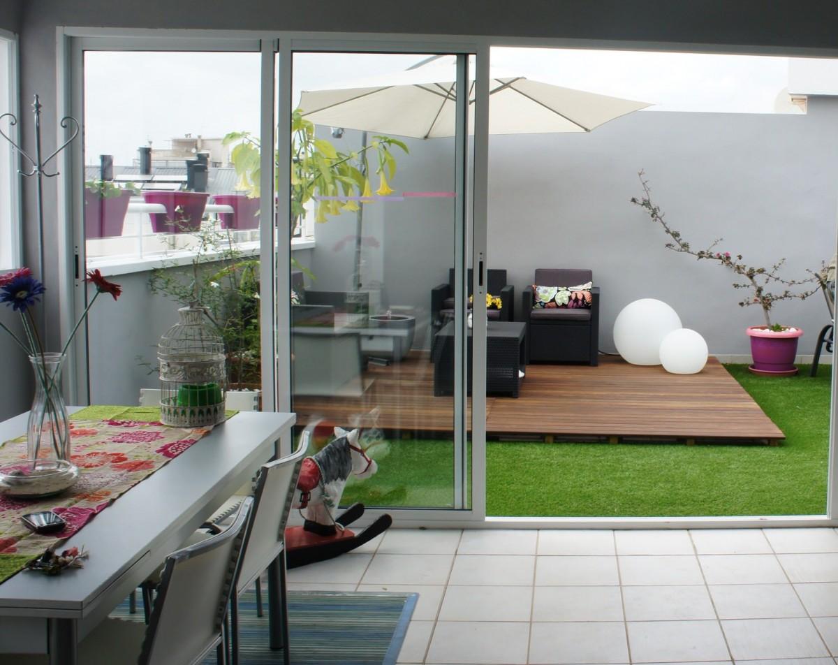 Terraza nuvart for Cesped artificial terraza
